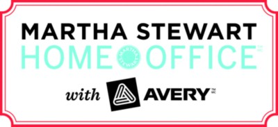 martha stewart home office with avery tips and ideas | avery