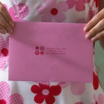 Valentine Envelope with Clear Label