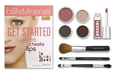 Get Started: Eyes Cheeks Lips
