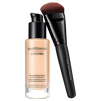 barePRO® Liquid Foundation + Brush Bundle