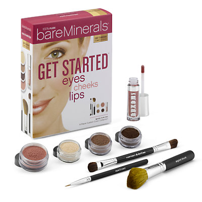 Get Started: Eyes Cheeks Lips - Light to Medium
