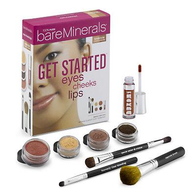Get Started: Eyes Cheeks Lips - Medium to Tan