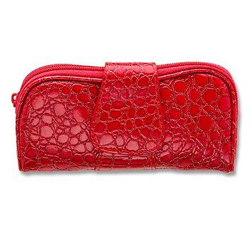 Red Patent Zip & Fold Bag