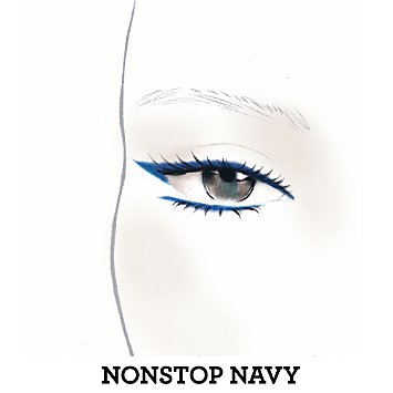 Lasting Line Long-Wearing Eyeliner - Nonstop Navy