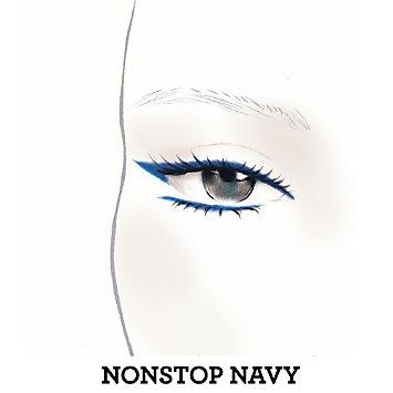 Lasting Line Long-Wearing Eyeliner - Nonstop Navy