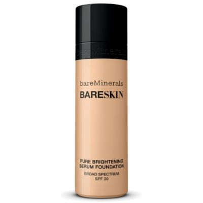 thumbnail imagebareSkin Pure Brightening Serum Foundation Broad Spectrum SPF 20 - Bare Shell 02