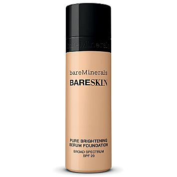bareSkin Pure Brightening Serum Foundation Broad Spectrum SPF 20 - Bare Shell 02