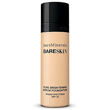 bareSkin Pure Brightening Serum Foundation Broad Spectrum SPF 20 - Bare Linen 03