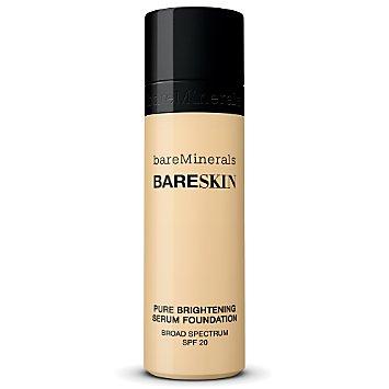 bareSkin Pure Brightening Serum Foundation Broad Spectrum SPF 20 - Bare Cream 05