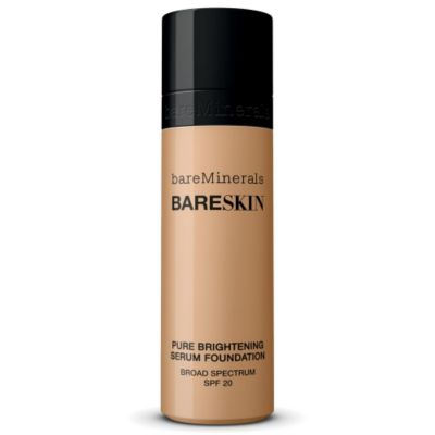 thumbnail imagebareSkin Pure Brightening Serum Foundation Broad Spectrum SPF 20 - Bare Beige 08
