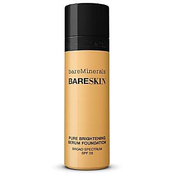 bareSkin Pure Brightening Serum Foundation Broad Spectrum SPF 20 - Bare Buff 10