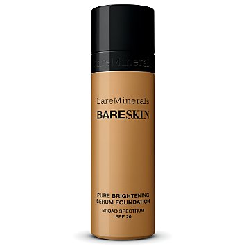 bareSkin Pure Brightening Serum Foundation Broad Spectrum SPF 20 - Bare Sand 12
