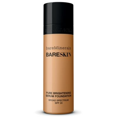 thumbnail imagebareSkin Pure Brightening Serum Foundation Broad Spectrum SPF 20 - Bare Tan 13