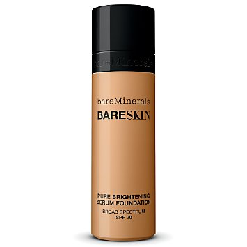 bareSkin Pure Brightening Serum Foundation Broad Spectrum SPF 20 - Bare Tan 13