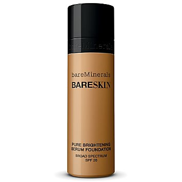 bareSkin Pure Brightening Serum Foundation Broad Spectrum SPF 20 - Bare Maple 17
