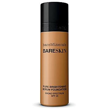 bareSkin Pure Brightening Serum Foundation Broad Spectrum SPF 20 - Bare Walnut 18