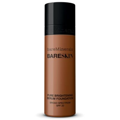 thumbnail imagebareSkin Pure Brightening Serum Foundation Broad Spectrum SPF 20 - Bare Mocha 20