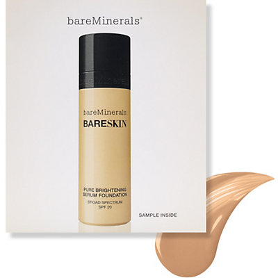 bareSkin Pure Brightening Serum Foundation Broad Spectrum SPF 20 Sample - null