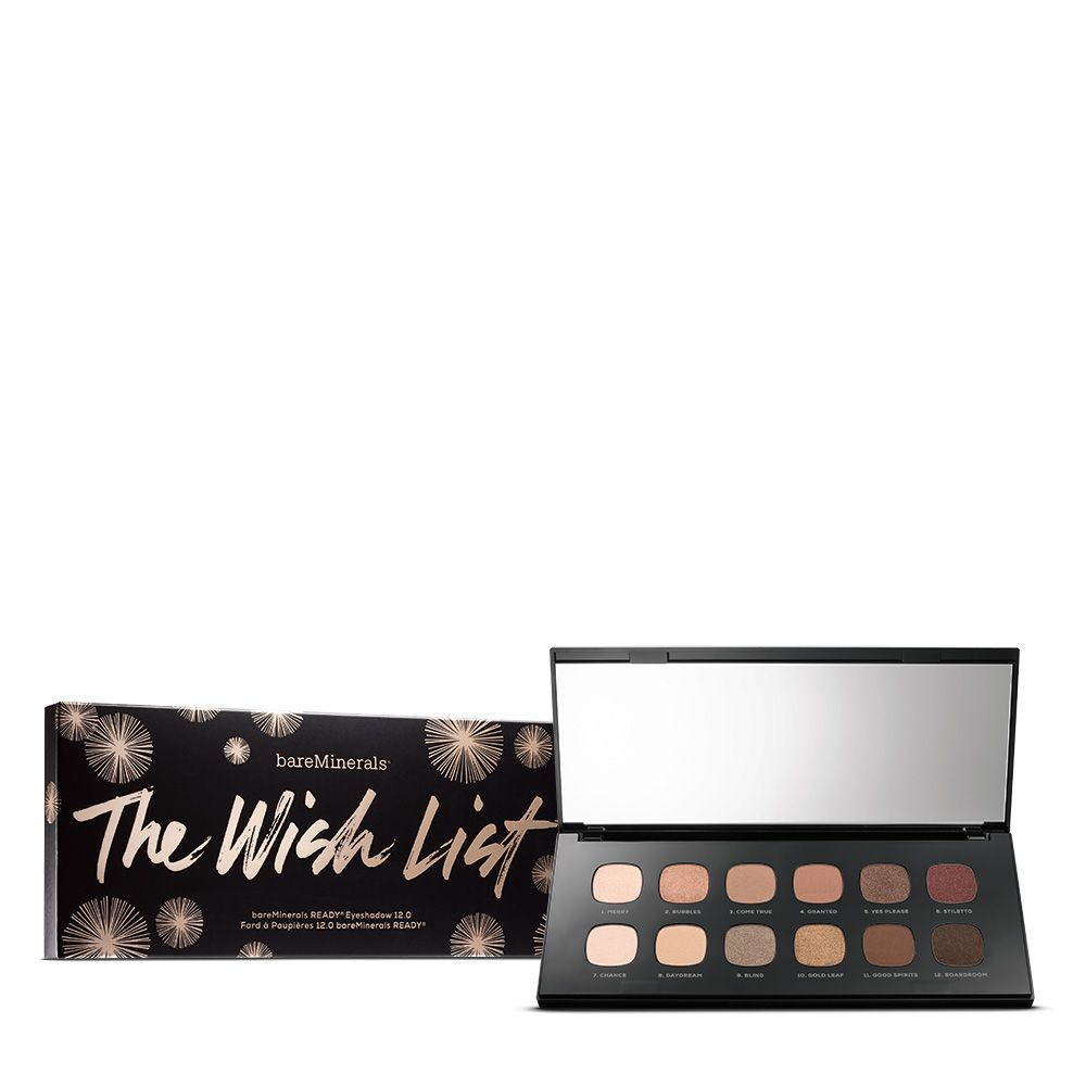 The Wish List READY<sup>®</sup> Eyeshadow Palette - 12 shades