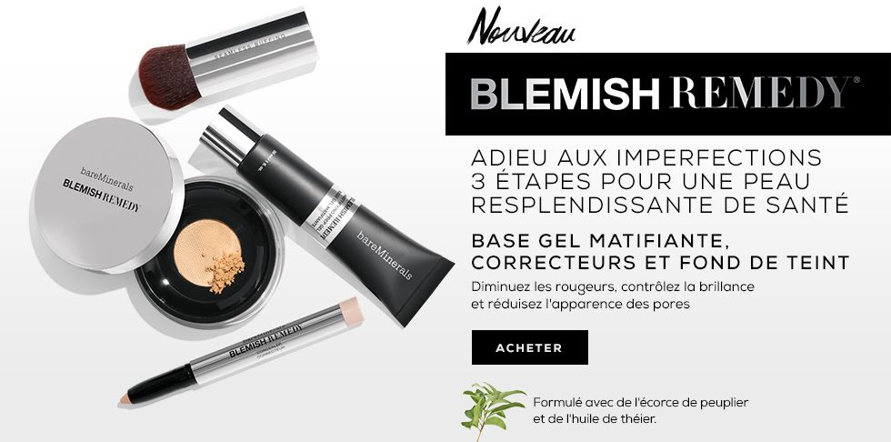 collection blemish remedy contre les boutons