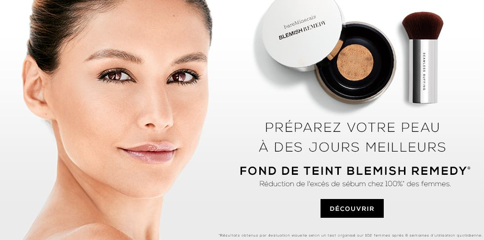 bareMinerals Blemish Remedy Fond de Teint anti imperfections