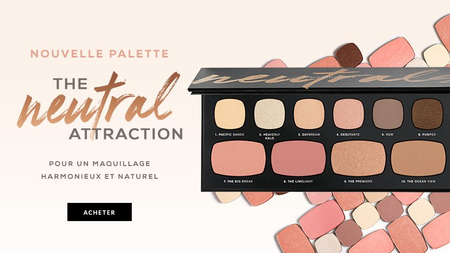 bareMinerals nouvelle palette edition limitee