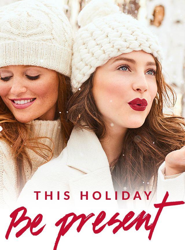 BE Present This Holiday Holiday Makeup Sets, Kits and Gifts