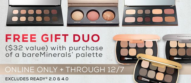 Holiday 2016 Palette Duo