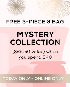 Receive a free 4-piece bonus gift with your $40 bareMinerals purchase