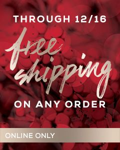 Free Shipping Holiday 2016