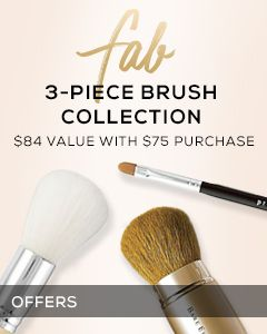 Receive a free 3-piece bonus gift with your $75 bareMinerals purchase