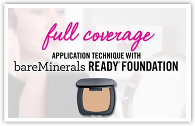 bareMinerals READY SPF 20 Foundation - Full Coverage Application