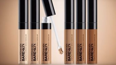 NEW bareSkin Complete Coverage Serum Concealer with Noot Seear