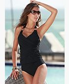 Whittle Waistline Tankini Top