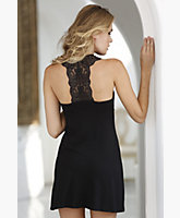 Sexy Back Short Slip Dress