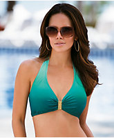 Emerald Underwire Halter Top
