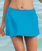 Solid Skirt With Bottom