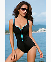Zip Me Up Tank Suit