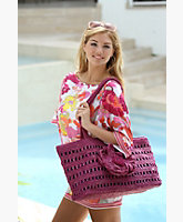 Crochet Floral Bag