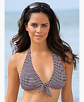 Reversible Halter Bikini Top