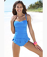 Ruffle Bottom Tankini
