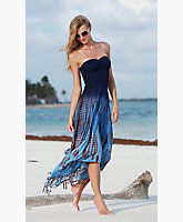 Fade Drape Dress