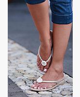 Snowball Sandals