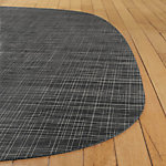 Abstract Lounge Weave Floor Mat