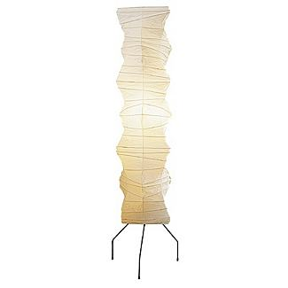 Akari Freeform Column Floor Lamp  - Design Within Reach :  asian akari lighting classic mid century wabi sculpture lighting lamp j apan japanese 3315 home