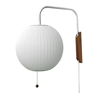 Nelson Wall Sconce - Nelson Bubble Lamps - Lighting - Categories - Design Within Reach