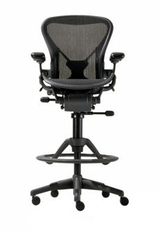 Aeron Work Stool with PostureFit