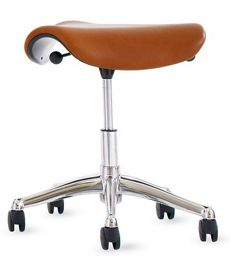 Freedom Saddle Seat in Leather
