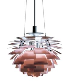 Artichoke Lamp - Copper