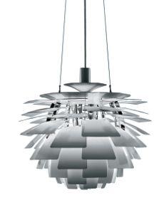 Artichoke Lamp - Stainless
